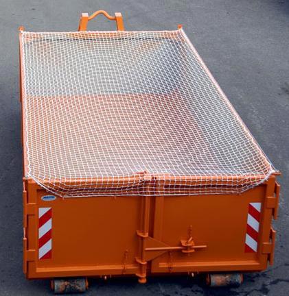 Ochranná síť na kontejner