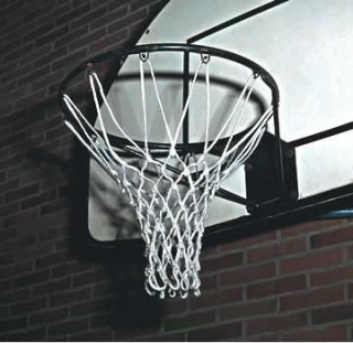 Basketbalová síť z nylonu, 6 mm, DIN EN 1270